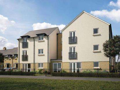 2 Bedrooms Flat for sale in Kingsfield Park, Aylesbury, Buckinghamshire