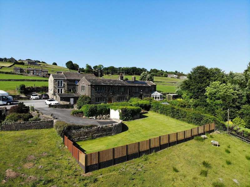 3 Bedrooms Semi Detached House for sale in Stansfield Hey, Ripponden, Sowerby Bridge HX6