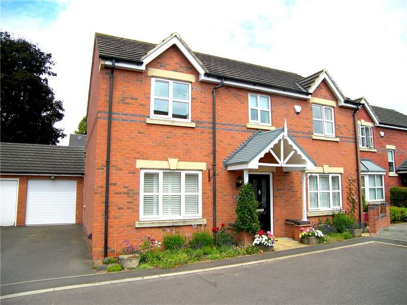 4 Bedrooms Detached House for sale in Watchorn Lawns, Alfreton, Derbyshire, DE55