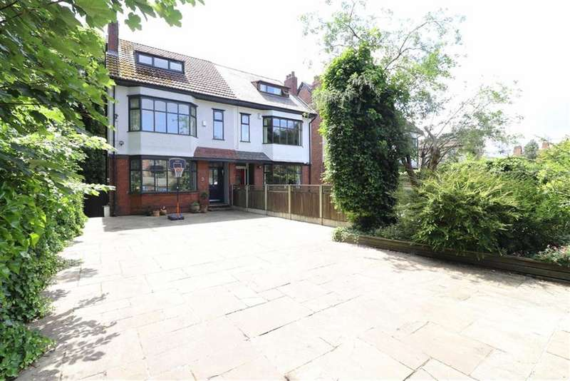 5 Bedrooms Semi Detached House for sale in Edge Lane, Chorlton, Manchester, M21