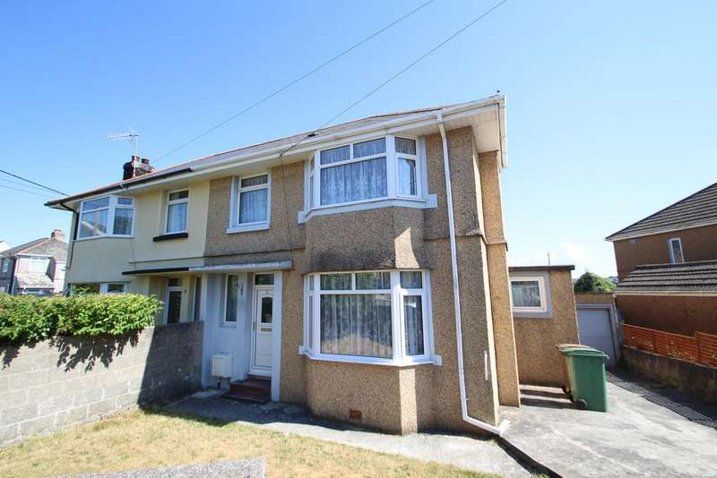 3 Bedrooms Semi Detached House for sale in Princess Avenue, Plymouth