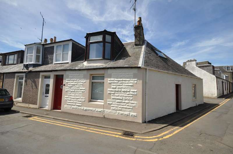 3 Bedrooms End Of Terrace House for sale in 2 Wesley Place, Girvan KA26