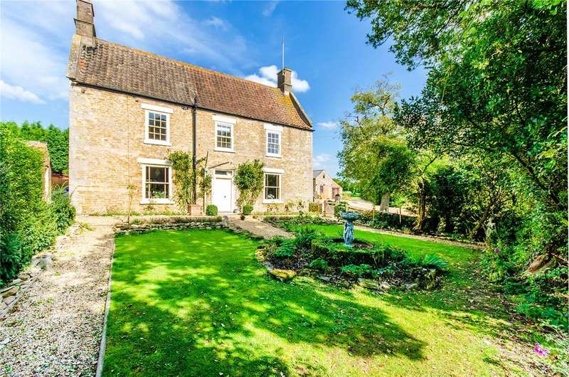 4 Bedrooms Detached House for sale in Cawthorpe, Bourne, Lincolnshire, PE10