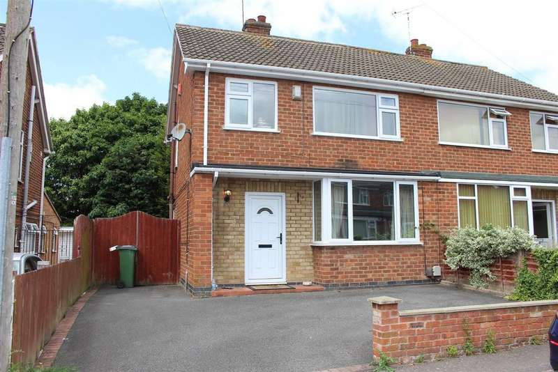3 Bedrooms Semi Detached House for sale in Cumberwell Drive, Enderby, Leicester