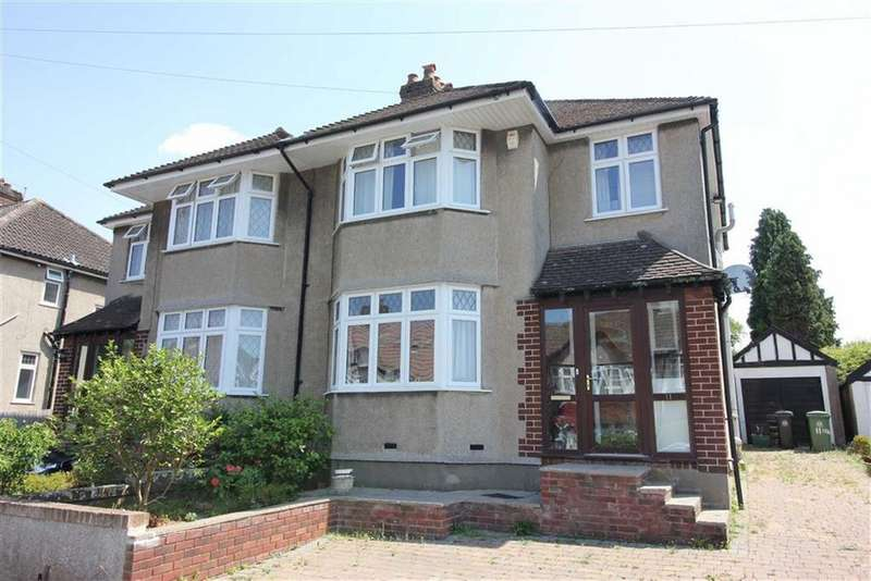 3 Bedrooms Semi Detached House for sale in Coombe Bridge Avenue, Stoke Bishop, Bristol