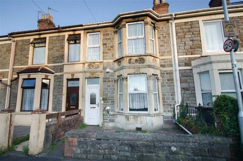 2 Bedrooms Terraced House for sale in Gloucester Road, Staple Hill, Bristol, BS16 4SL