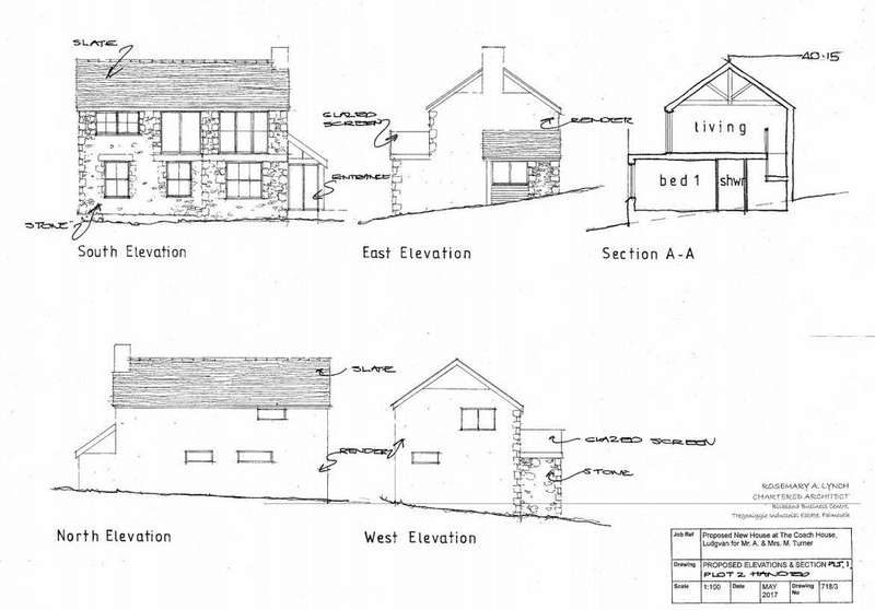 3 Bedrooms Plot Commercial for sale in Lower Quarter, Ludgvan, Penzance