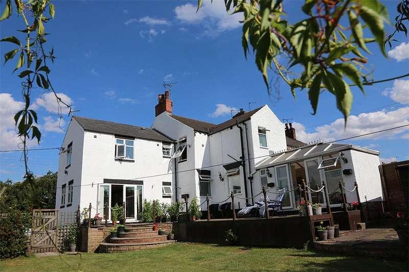 4 Bedrooms End Of Terrace House for sale in Street Lane, Denby, Derbyshire, DE5