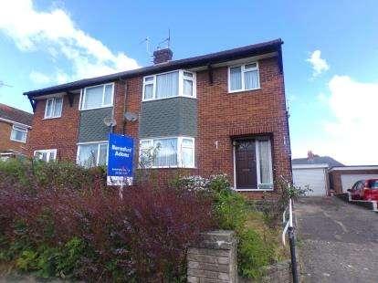 3 Bedrooms Semi Detached House for sale in Hafod Park, Mold, Flintshire, CH7