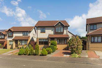 4 Bedrooms Detached House for sale in Fereneze Grove, Barrhead, Glasgow, East Renfrewshire