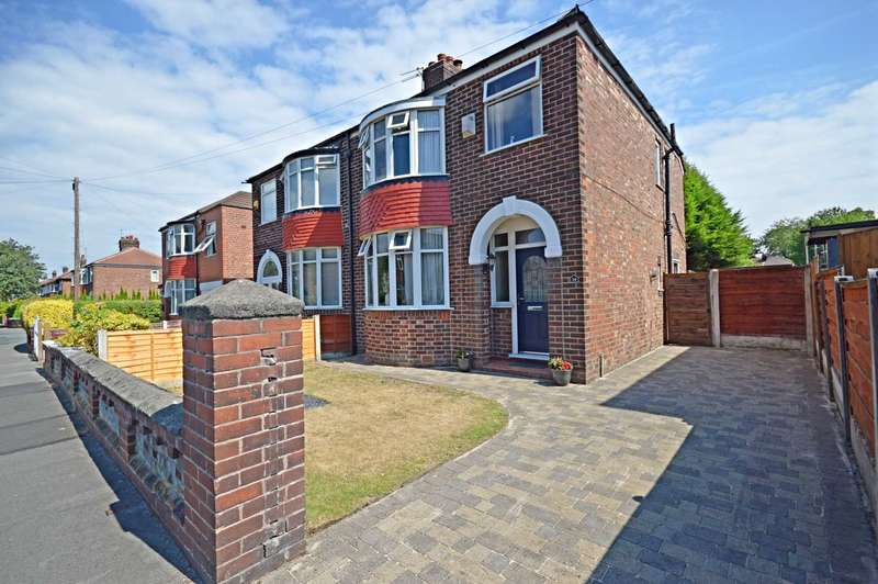 3 Bedrooms Semi Detached House for sale in Kenilworth Road, Cheadle Heath