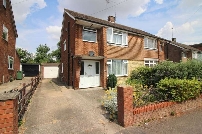 3 Bedrooms Semi Detached House for sale in East Hill Road, Houghton Regis, Bedfordshire, LU5 5EH