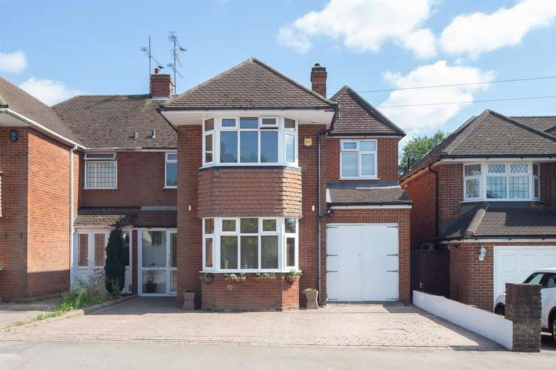 4 Bedrooms Semi Detached House for sale in Kingsdown Avenue, Luton