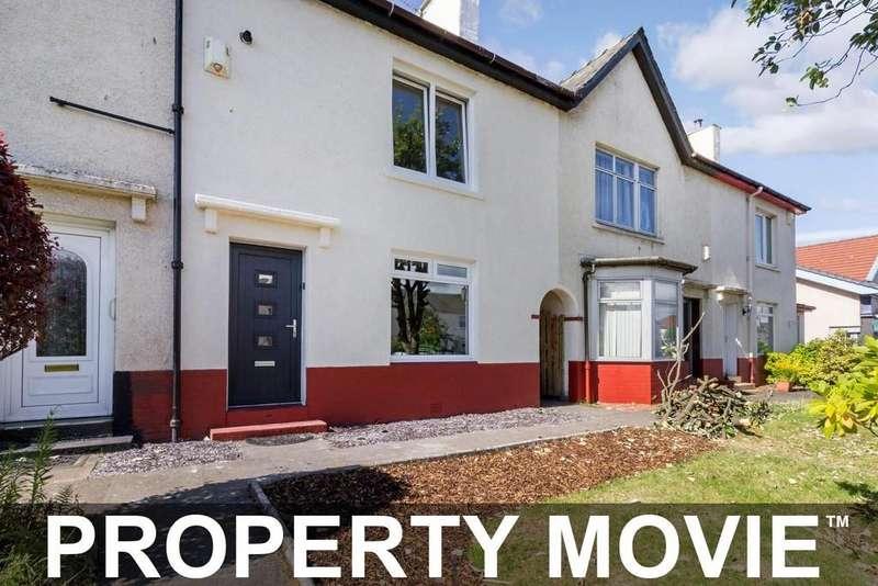 2 Bedrooms Terraced House for sale in 241 Alderman Road, Knightswood, Glasgow, G13 3AZ