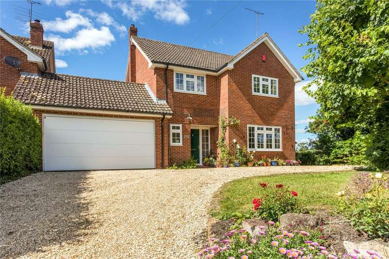 5 Bedrooms Link Detached House for sale in Wessex House, Woodborough, Pewsey, Wiltshire, SN9