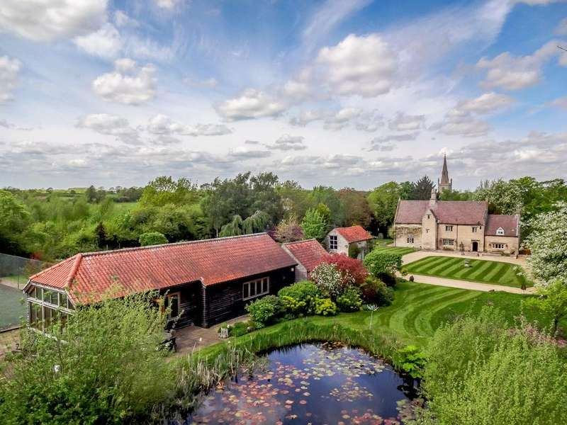5 Bedrooms Detached House for sale in Heydour Priory, Heydour, Grantham, Lincolnshire, NG32