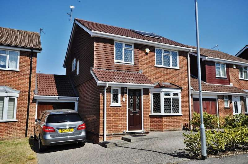 3 Bedrooms Detached House for sale in Coriander Way, Earley
