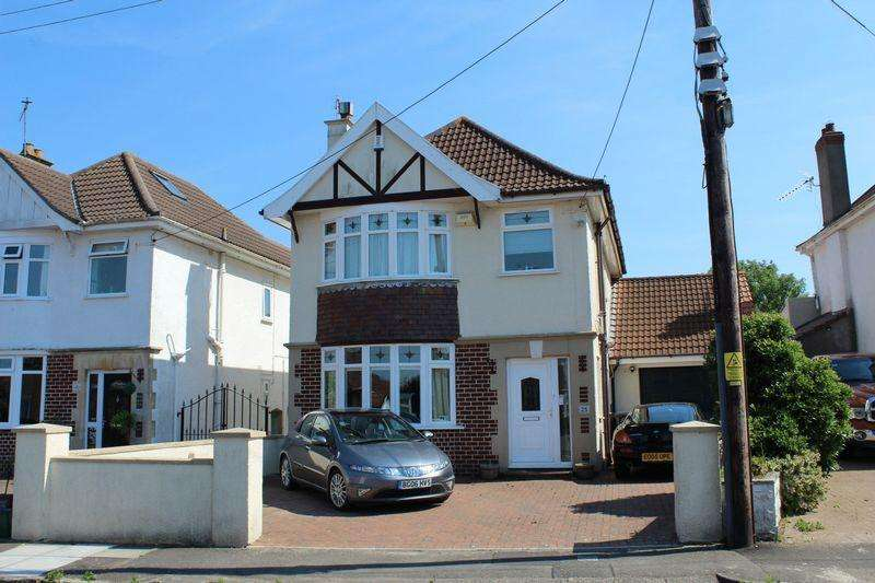 4 Bedrooms Detached House for sale in Woodspring Avenue, Worlebury