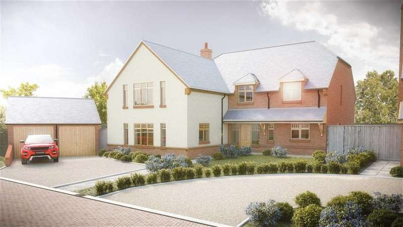 5 Bedrooms Detached House for sale in The Old Woodyard, Main Street, Marston Trussell Market Harborough, Northamptonshire