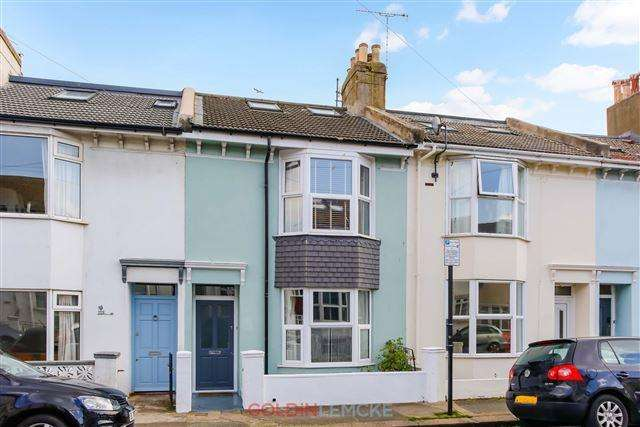 3 Bedrooms Terraced House for sale in Shirley Street, Hove