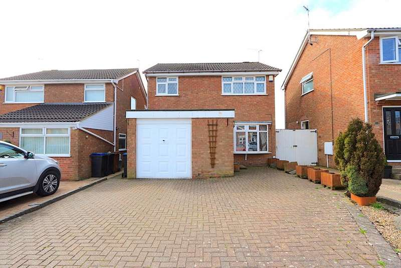 3 Bedrooms Property for sale in Overfield Close, Ratby