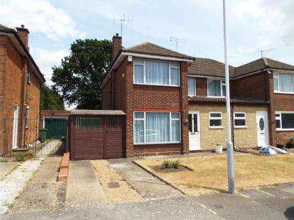3 Bedrooms Semi Detached House for sale in Forrest Crescent, Luton, Bedfordshire
