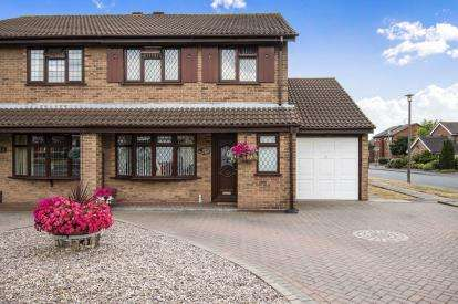 3 Bedrooms Semi Detached House for sale in Redliff Avenue, Castle Bromwich, Birmingham, Red