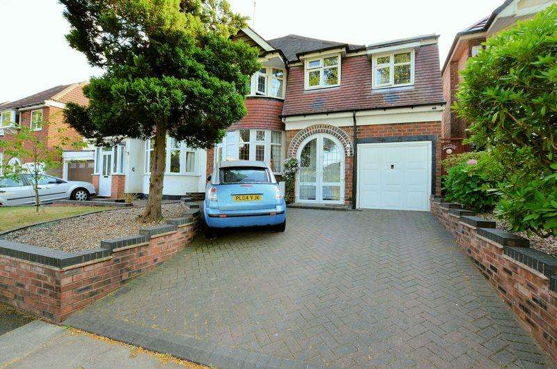 4 Bedrooms Semi Detached House for sale in Edenhall Road, Quinton