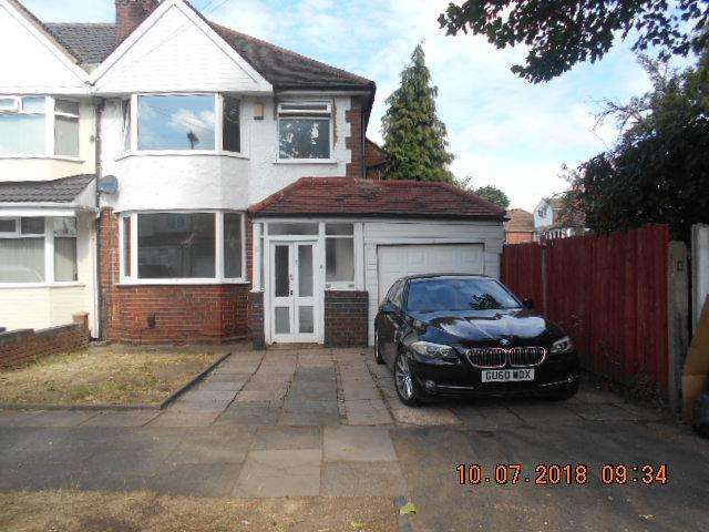 3 Bedrooms Semi Detached House for sale in Hobmoor Croft, Yardley, Birmingham B25