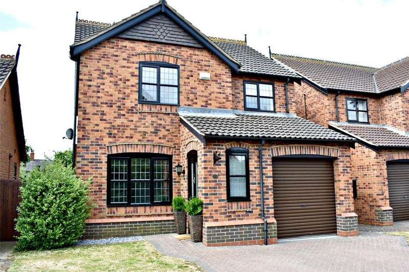 3 Bedrooms Detached House for sale in Chestnut Grove, Barnetby, North Lincolnshire, DN38