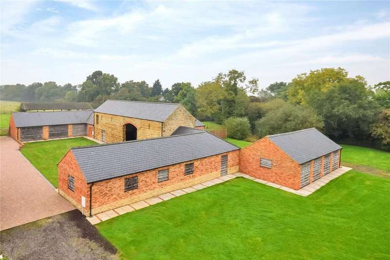 4 Bedrooms Barn Conversion Character Property for sale in Hardwick, Wellingborough, Northamptonshire