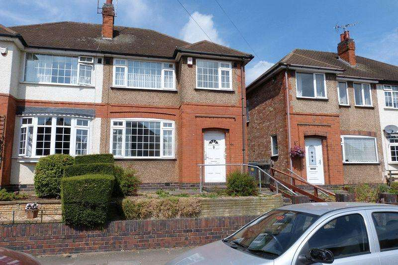3 Bedrooms Semi Detached House for sale in Wiltshire Road, Stadium Estate, Leicester