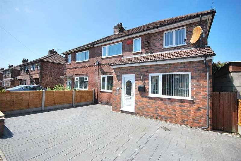 3 Bedrooms Semi Detached House for sale in Hazel Avenue, Little Hulton, Manchester