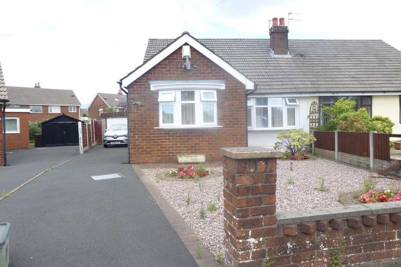 2 Bedrooms Semi Detached Bungalow for sale in ST ANNES ROAD, LEYLAND PR25