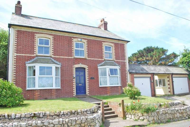 4 Bedrooms Detached House for sale in St Gennys, Bude, Cornwall, EX23