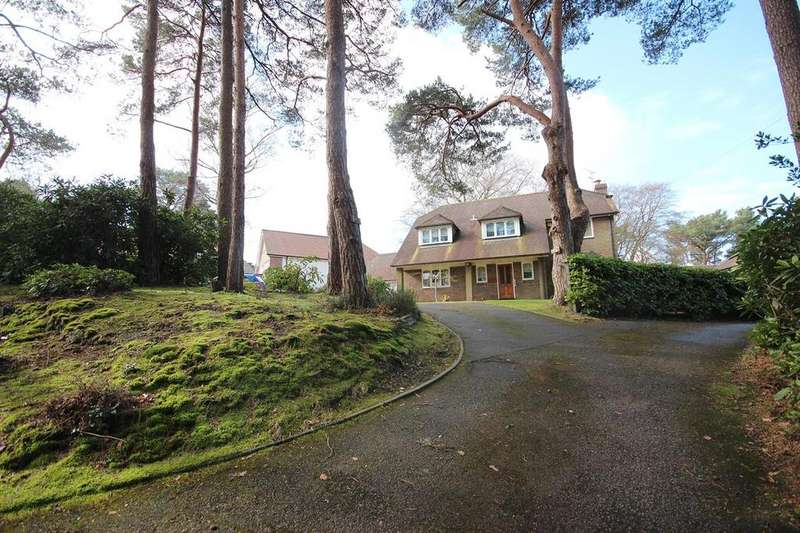 4 Bedrooms Detached House for sale in Upper Golf Links Road, Broadstone