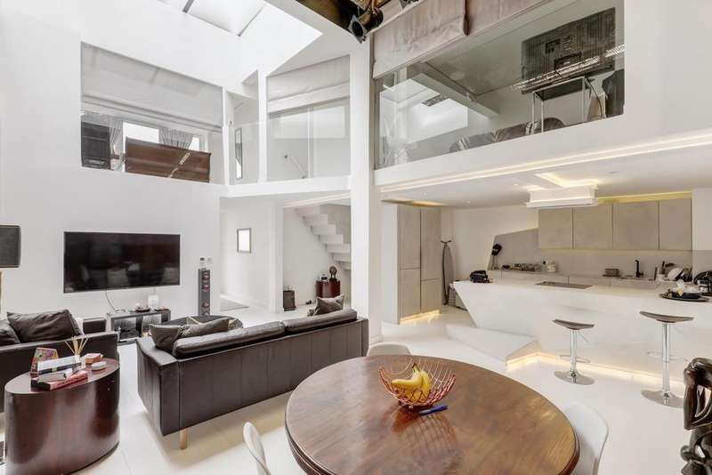 2 Bedrooms Apartment Flat for sale in Warple Mews