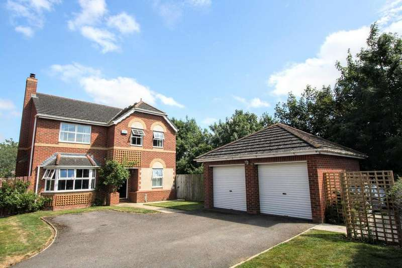 4 Bedrooms Detached House for sale in Oaklea Mews, Aycliffe, Newton Aycliffe