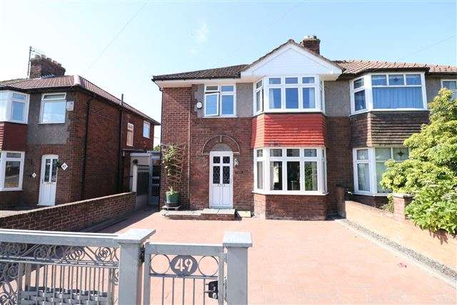 4 Bedrooms Semi Detached House for sale in Orton Road, Carlisle, Cumbria, CA2 7HA