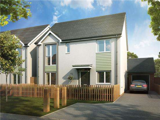 4 Bedrooms Detached House for sale in The Chichester, Glan Llyn, Llanwern, Newport, NP19 4QZ