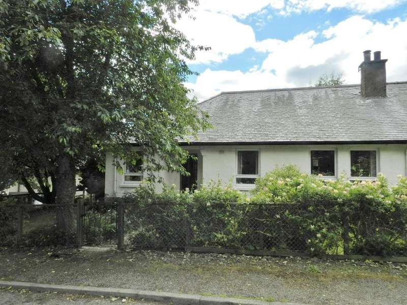 3 Bedrooms Semi Detached Bungalow for sale in Gergask Avenue, Lagan PH20