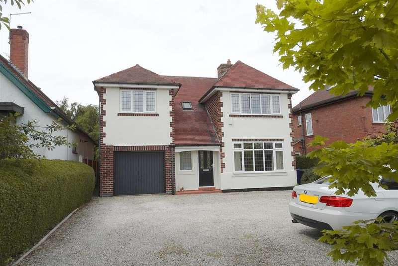 4 Bedrooms Detached House for sale in High Lane West, West Hallam