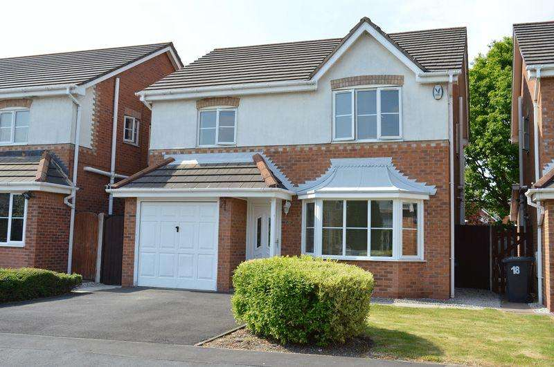 4 Bedrooms Detached House for sale in Brambling Way, Lowton, WA3 2GS