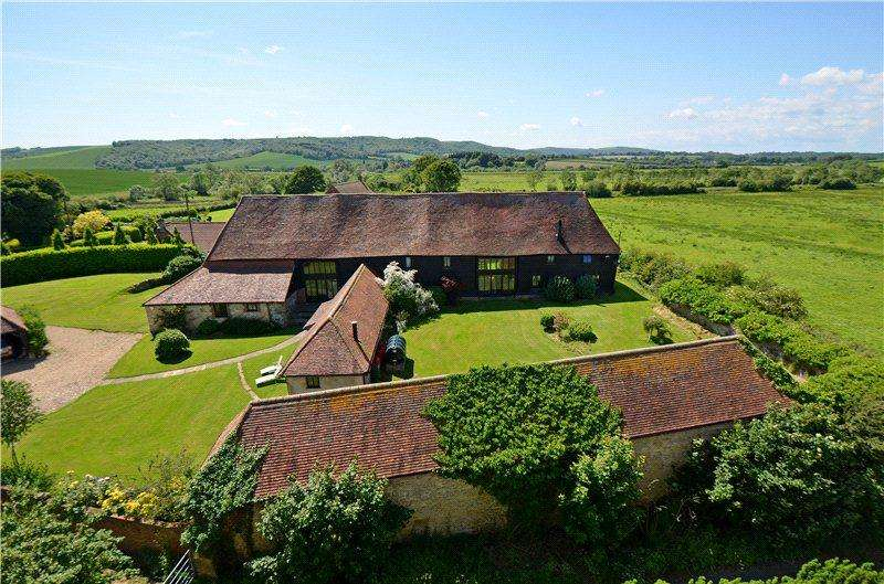 6 Bedrooms Barn Conversion Character Property for sale in Station Road, Amberley, Arundel, West Sussex