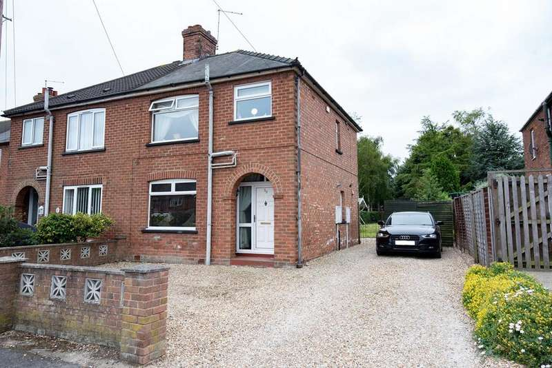 3 Bedrooms Semi Detached House for sale in Parsons Lane, Alford, LN13