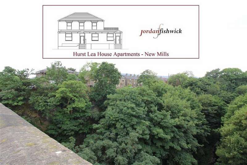 2 Bedrooms Apartment Flat for sale in Hurst Lea Road, New Mills, High Peak, Derbyshire