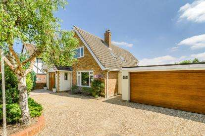 3 Bedrooms Detached House for sale in Cause End Road, Wootton, Bedford, Bedfordshire