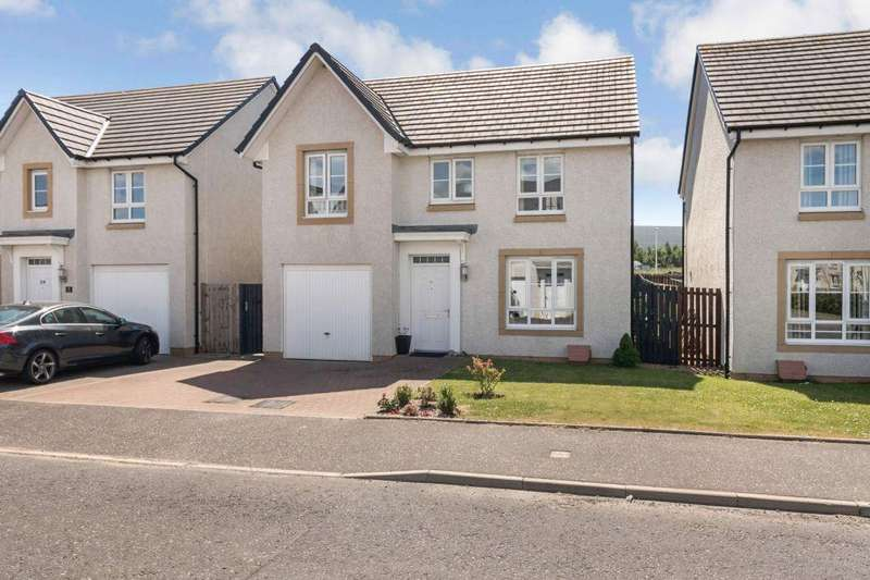 4 Bedrooms Detached House for sale in 61 Lang Drive, Inch Cross Grange, Bathgate, EH48 2LZ