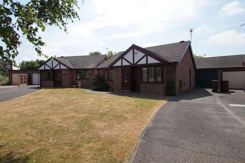 2 Bedrooms Detached Bungalow for sale in Carisbrooke Close, Lincoln