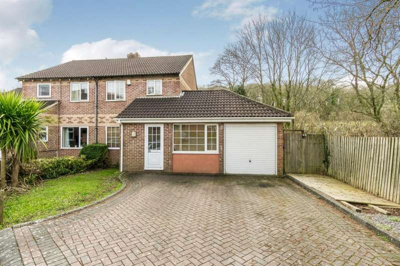 4 Bedrooms Semi Detached House for sale in Canterbury Drive, Plymouth, PL5